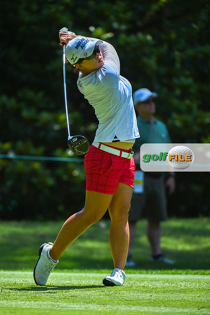 Sei Young Kim (KOR) watches her tee shot on 3 during round 4 of the U.S. Women's Open Championship, Shoal Creek Country Club, at Birmingham, Alabama, USA. 6/3/2018.<br /> Picture: Golffile | Ken Murray<br /> <br /> All photo usage must carry mandatory copyright credit (© Golffile | Ken Murray)