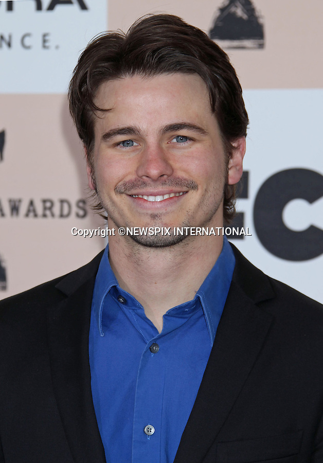 """JASON RITTER.INDEPENDENT SPIRIT AWARDS.Santa Monica, California_26/2/2011.Mandatory Photo Credit: ©M.Philips_Newspix International..**ALL FEES PAYABLE TO: """"NEWSPIX INTERNATIONAL""""**..PHOTO CREDIT MANDATORY!!: NEWSPIX INTERNATIONAL(Failure to credit will incur a surcharge of 100% of reproduction fees)..IMMEDIATE CONFIRMATION OF USAGE REQUIRED:.Newspix International, 31 Chinnery Hill, Bishop's Stortford, ENGLAND CM23 3PS.Tel:+441279 324672  ; Fax: +441279656877.Mobile:  0777568 1153.e-mail: info@newspixinternational.co.uk"""