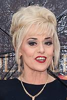 Tracie Bennett<br /> arriving for the Olivier Awards 2018 at the Royal Albert Hall, London<br /> <br /> ©Ash Knotek  D3392  08/04/2018