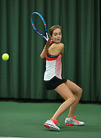 Rotterdam, The Netherlands, March 19, 2016,  TV Victoria, NOJK 14/18 years, Julie Belgraver (NED)<br /> Photo: Tennisimages/Henk Koster