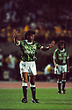 Luiz Carlos Pereira (Verdy),..MAY 15, 1993 - Football :..J.League Opening Match between Verdy Kawasaki 1-2 Yokohama Marinos at National Stadium in Tokyo. Japan. (Photo by Katsuro Okazawa/AFLO)