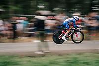 David Gaudu (FRA/Groupama - FDJ)<br /> <br /> Stage 20 (ITT): Saint-P&eacute;e-sur-Nivelle &gt;  Espelette (31km)<br /> <br /> 105th Tour de France 2018<br /> &copy;kramon