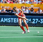 Den Bosch  -  Laura Nunnink (Ned) tijdens  de Pro League hockeywedstrijd dames, Nederland-Belgie (2-0).     COPYRIGHT KOEN SUYK