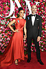 Lauren Ridloff and husband arrives at The 72nd Annual Tony Awards on June 10, 2018 at Radio City Music Hall in New York, New York, USA. <br /> <br /> photo by Robin Platzer/Twin Images<br />  <br /> phone number 212-935-0770