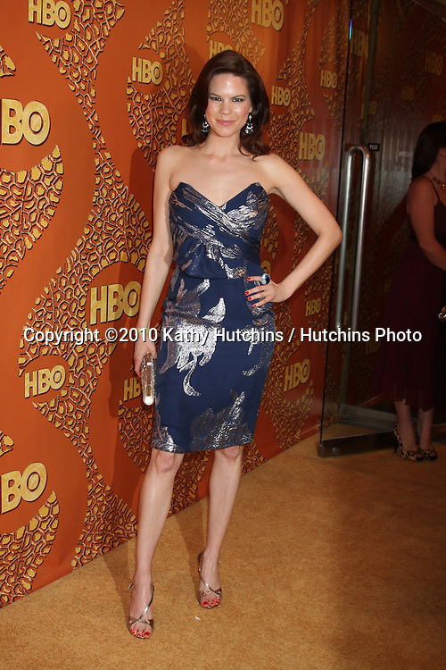 Mariana Klaveno.arriving at the 67th Annual Golden Globe Awards Official HBO After Party.Beverly Hilton Hotel.Beverly Hills, CA.January 17, 2010.©2010 Kathy Hutchins / Hutchins Photo....