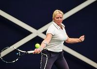 Hilversum, The Netherlands, March 12, 2016,  Tulip Tennis Center, NOVK, Josephine van der Stroom (NED)<br /> Photo: Tennisimages/Henk Koster
