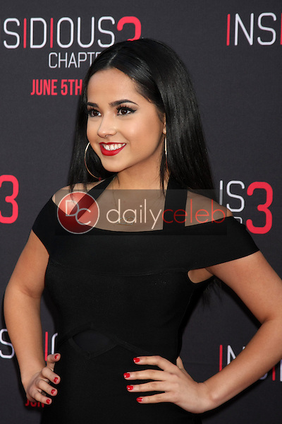 Becky G at the &quot;Insidious Chapter 3&quot; Premiere, TCL Chinese Theater, Hollywood, CA 06-04-15<br /> David Edwards/DailyCeleb.com 818-249-4998