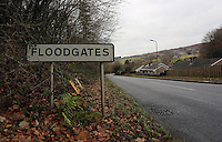 Village of Floodgates near Kington in Herefordshire. Friday 02 December 2016