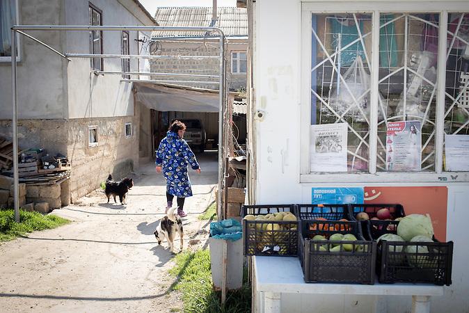 Leben der Tataren auf der Krim Ende M&auml;rz 2014 / Crimean Tatars in March 2014<br /><br />Distrikt 6 in Bachtschissaraj, eine Tataren-Siedlung