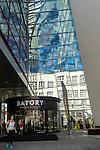 Gdynia, (woj. pomorskie) 21.07.2016.Centrum Handlowe Batory to nowoczesny obiekt położony w ścisłym centrum Gdyni, przy skrzyżowaniu dwóch głównych ulic miasta: Władysława IV i 10 Lutego.