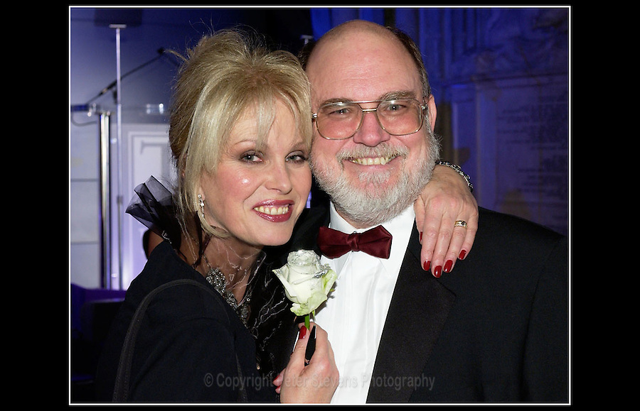 Joanna Lumley OBE and Chris Humphries CBE - National Training Awards 2003 - The Guildhall, City of London - 19th November 2003 - <br /> <br /> The National Training Awards are managed by UK Skills on behalf of the Department of Business, Innovation and Skills in England and in partnership with the Department for Employment and Learning Northern Ireland, the Welsh Assembly Government, Skills Development Scotland and the Scottish Government.
