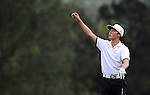 TAIPEI, TAIWAN - NOVEMBER 20:  Lorens Chan of USA checks the wind direction on the 2nd hole during day three of the Fubon Senior Open at Miramar Golf & Country Club on November 20, 2011 in Taipei, Taiwan.  Photo by Victor Fraile / The Power of Sport Images