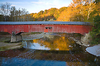 The Deer's Mill Covered Bridge in Shades State Park; Parke County, IN