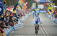 winner: Zdenek Stybar (CZE)<br /> <br /> 2014 UCI cyclo-cross World Championships, EliteMen