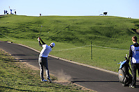 Julian Suri (USA) plays his 2nd shot on the 6th hole during Sunday's Final Round of the 2018 AT&amp;T Pebble Beach Pro-Am, held on Pebble Beach Golf Course, Monterey,  California, USA. 11th February 2018.<br /> Picture: Eoin Clarke | Golffile<br /> <br /> <br /> All photos usage must carry mandatory copyright credit (&copy; Golffile | Eoin Clarke)