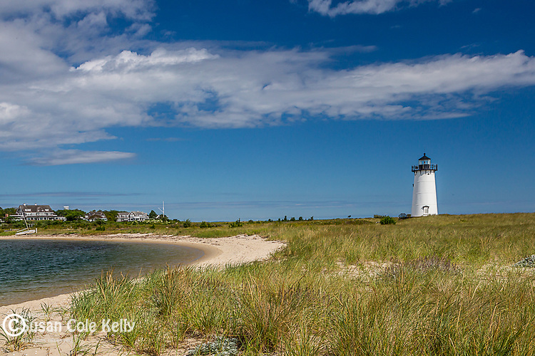 The Edgartown Lighthouse in Edgartown, Marthas Vineyard, Massachusetts, USA