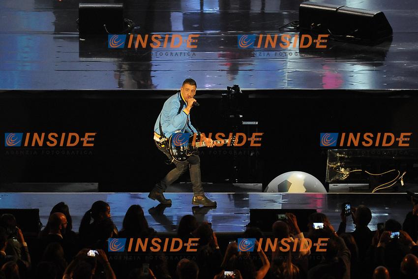 Francesco Gabbani<br /> Verona 05-06-2017 Arena <br /> Wind Music Awards 2017 <br /> Foto Alberto Anello/Photoring/Insidefoto