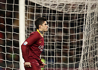 Football, Serie A: AS Roma - US Sassuolo, Olympic stadium, Rome, December 26, 2018. <br /> Roma's Diego Perotti celebrates after scoring during the Italian Serie A football match between Roma and Sassuolo at Rome's Olympic stadium, on December 26, 2018.<br /> UPDATE IMAGES PRESS/Isabella Bonotto