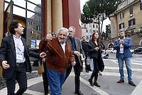Pepe Mujica a Garbatella