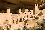 Cliff Palace ruins..Mesa Verde National Park, Colorado.