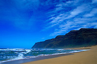Polihale beach, far west end of Island of Kauai