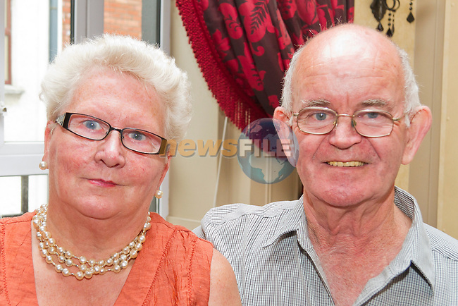Helena Nevin and Jim Kelly at the Bring and Buy in the Westcourt in aid of Alzheimer's Society..Picture: Shane Maguire / www.newsfile.ie.