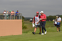 Jim Herman (USA) walks down 11 during day 1 of the Valero Texas Open, at the TPC San Antonio Oaks Course, San Antonio, Texas, USA. 4/4/2019.<br /> Picture: Golffile | Ken Murray<br /> <br /> <br /> All photo usage must carry mandatory copyright credit (© Golffile | Ken Murray)