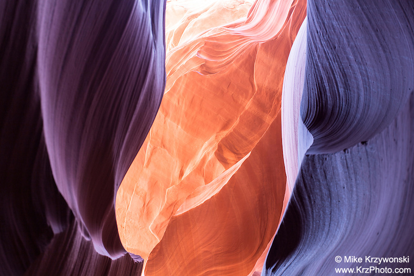 "Lower Antelope Canyon aka ""Corkscrew Canyon"" near Page, AZ"