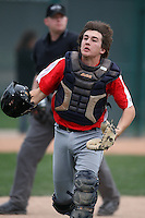 January 17, 2010:  Alex Burridge (Queen Creek, AZ) of the Baseball Factory Pacific Team during the 2010 Under Armour Pre-Season All-America Tournament at Kino Sports Complex in Tucson, AZ.  Photo By Mike Janes/Four Seam Images
