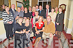 Pictured at the Innisfallen Health and Beauty spa members party in The Malton Hotel, Killarney on Friday night were Betty Heilbron, Delia Adams, Bernie and Michael O'Sullivan, Kathleen Connolly, Peggy O'Connor, Derek Heilbron, Jim Connolly, Paddy and Bridie O'Sullivan, Mike Looney, Eugene O'Connor, Oona Keating, Johnny Culloty, Pat McAullife, Kathleen McAulliffe, Ita Looney and Joan Culloty.