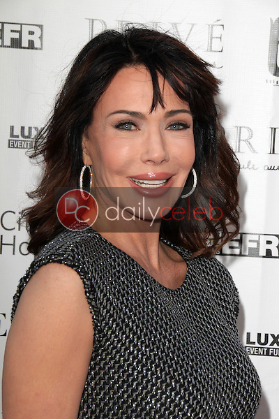 Hunter Tylo<br /> at Sue Wong's 'Fairies and Sirens' Fashion Show at L.A. Fashion Week. The Reef, Los Angeles, CA 10-15-14<br /> David Edwards/Dailyceleb.com 818-249-4998