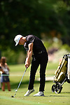 30 MAY 2016: Matthias Schwab of Vanderbilt University competes in the Division I Men's Golf Championship is held at the Eugene Country Club in Eugene, OR. Schwab tied for third place with a score of -1. Stephen Nowland/NCAA Photos