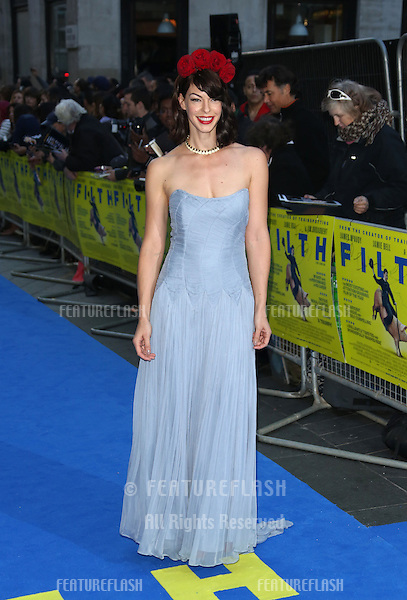 Pollyanna McIntosh arriving for the UK premiere of Filth held at the Odeon - Arrivals<br /> London. 30/09/2013 Picture by: Henry Harris / Featureflash