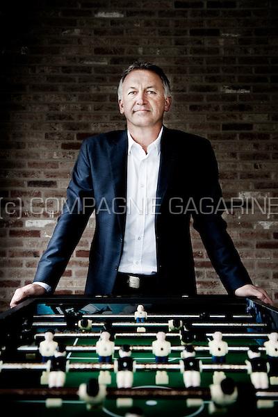 Belgian retired footballer Marc Degryse (Belgium, 21/03/2014)