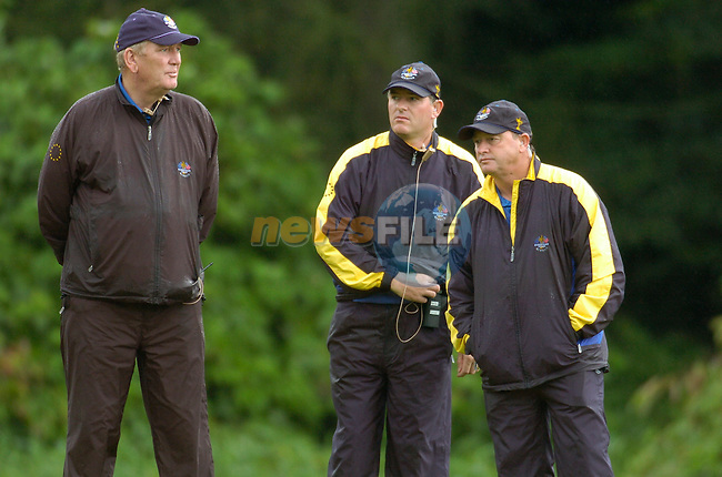 Ryder Cup K Club Straffin Co Kildare..European Ryder Cup Team player Ian Woosnam during the morning fourball session of the second day of the 2006 Ryder Cup at the K Club in Straffan, County Kildare, in the Republic of Ireland, 23 September, 2006..Photo: Barry Cronin/ Newsfile.<br />