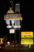The Cowboy Motel in Amarillo Texas on Route 66.