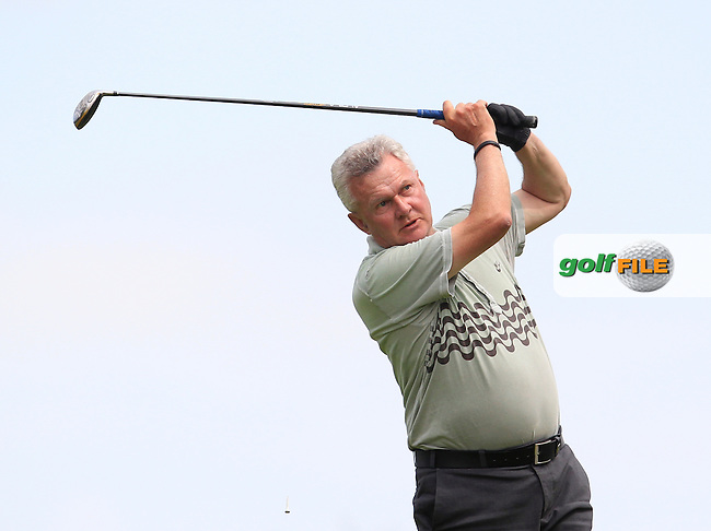 Rory Timlin (Galway) on the 6th tee during Round 1 of the Leinster Seniors Amateur Open Championship at Enniscorthy Golf Club on Tuesday 23rd June 2015.<br /> Picture:  Thos Caffrey / www.golffile.ie