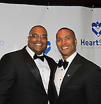 Sean Ringgold & Mike Woods, Fox 5 meteorologist who is being honored with the Linda Dano Heart Award on March 21, 2013 at the HeartShare 25th Annual Spring Gala and Auction at the New York Marriott, NYC, NY.  (Photo by Sue Coflin/Max Photos)