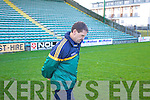 Jack O'Connor Kerry Trainer Kerry v Limerick Institute Technology in the Quarter Final of the McGrath Cup at Austin Stack Park, Tralee on Sunday 16th January.