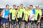 Pictured at the Kerryhead Half Marathon in Ballyheigue on Sunday, from left: Mike Kissane, Tom Groarke, Ann Marie Tritschler, Darren Halpin, Aine O'Connor, Jonathan Norgrove and Gordon Flannery, all from Listowel..