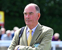 Trainer Henry Candy during Horse Racing at Salisbury Racecourse on 15th August 2019