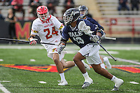 NCAA LACROSSE: Yale at Maryland