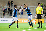 Stockholm 2014-03-09 Fotboll Svenska Cupen Djurg&aring;rdens IF - Assyriska FF :  <br /> Djurg&aring;rdens Alexander Faltsetas  byts in ist&auml;llet f&ouml;r Djurg&aring;rdens Yussif Chibsah <br /> (Foto: Kenta J&ouml;nsson) Nyckelord:  Djurg&aring;rden byte