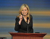 St. Paul, MN - September 4, 2008 -- United States Representative Marsha Blackburn (Republican of Tennessee) speaks on day 4 of the 2008 Republican National Convention at the Xcel Energy Center in St. Paul, Minnesota on Thursday, September 4, 2008..Credit: Ron Sachs / CNP.(RESTRICTION: NO New York or New Jersey Newspapers or newspapers within a 75 mile radius of New York City)