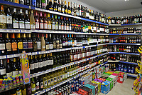 Local shop in Waltham Abbey well stocked with food during the COVID-19 pandemic on 22nd March 2020