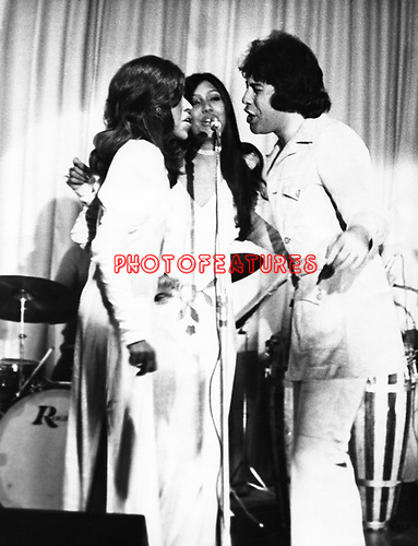 Dawn 1971 with Tony Orlando.© Chris Walter.