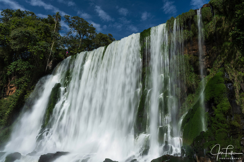 Bossetti Falls at Iguazu Falls National Park in Argentina.  A UNESCO World Heritage Site.