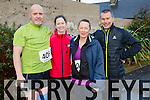 participating in the  Kerins O'Rahillys 10k Martin Gayle, Una O Dowd, Mary Donnelly, Anthony Donnelly on sunday
