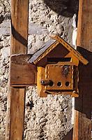 Europe/France/Rhône-Alpes/73/Savoie/Courchevel: Détail  boite à lettre chalet