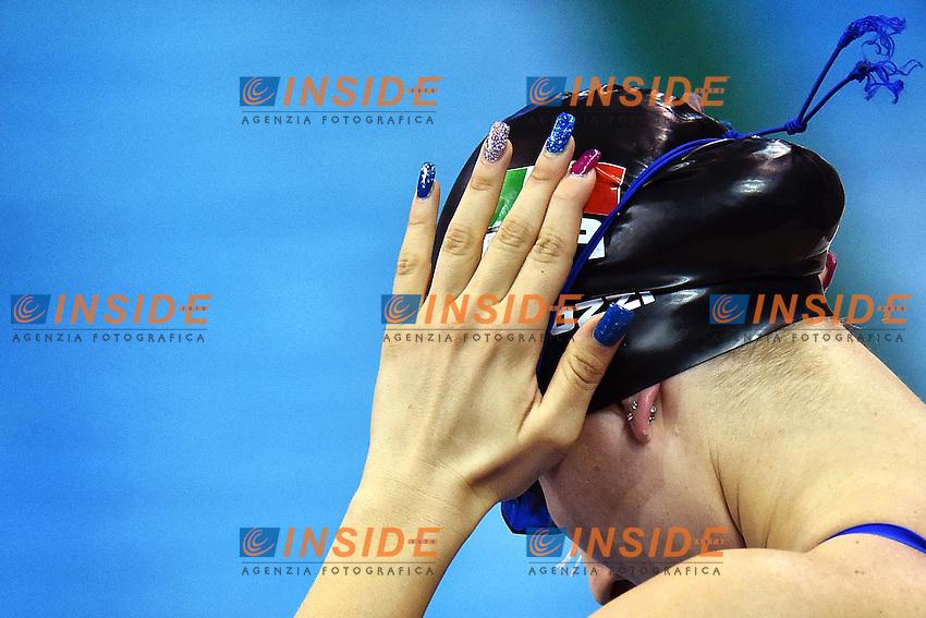 Stefania PIROZZI ITA Women's 200m Individual Medley <br /> Doha Qatar 06-12-2014 Hamad Aquatic Centre, 12th FINA World Swimming Championships (25m). Nuoto Campionati mondiali di nuoto in vasca corta.<br /> Photo Andrea Staccioli/Deepbluemedia/Insidefoto